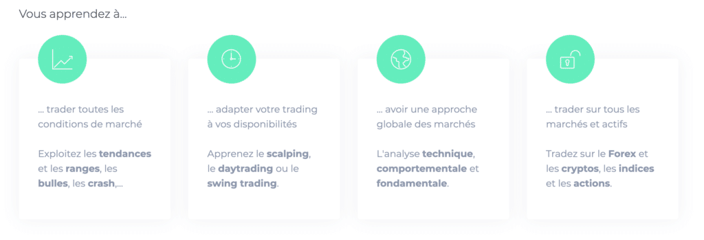 geneva trade center formation à distance trading