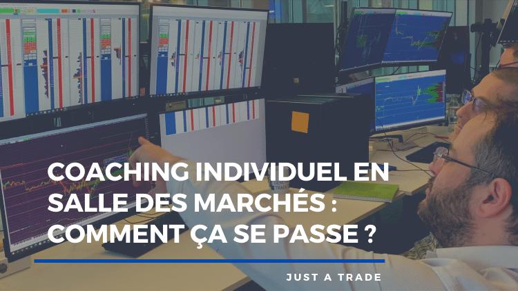 Coaching individuel en salle des marchés : comment ça se passe ?