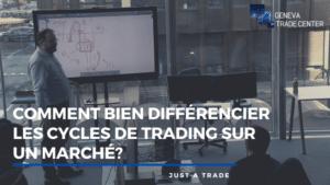 Comment bien différencier les cycles de trading sur un marché