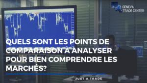 Quels sont les points de comparaison à analyser pour bien comprendre les marchés financiers ?